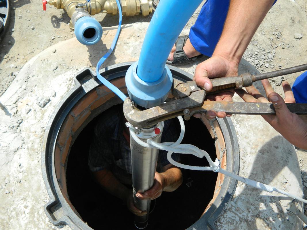 Насос для скважины ремонт своими руками 77