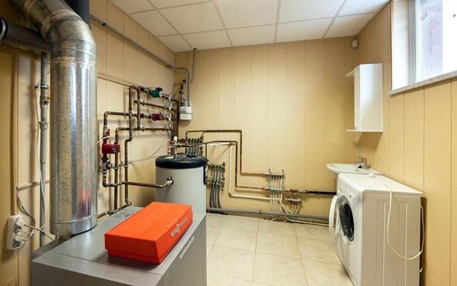 внешний отопление в доме под ключ Популярные